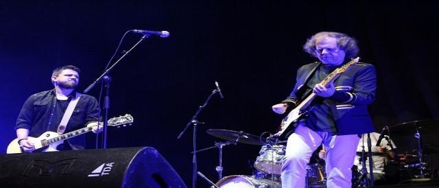 Os UHF fizeram a primeira parte do concerto dos Deep Purple