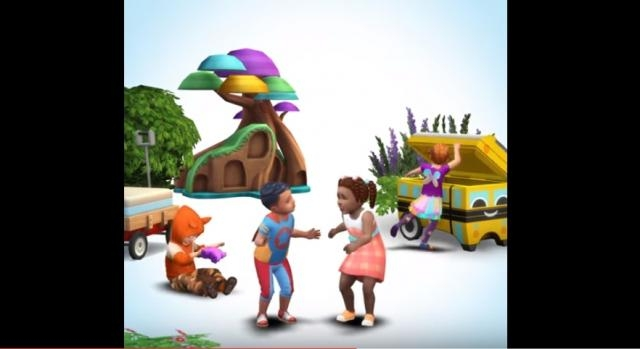 Maxis announces Toddler-themed stuff pack is coming to 'The Sims 4' in late summer. (YouTube screenshot)