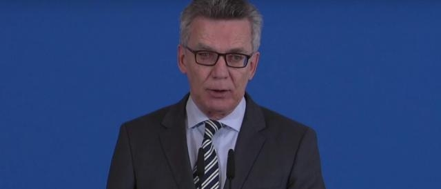 Thomas de Maizière, ministro dell'Interno tedesco