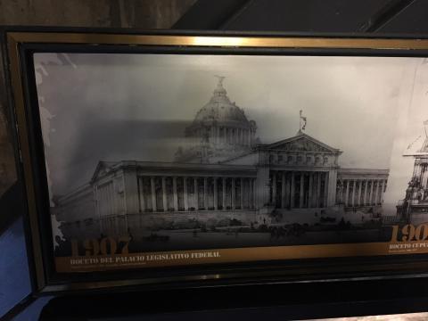 Boceto del Palacio Legislativo Federal (1907)