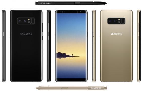 Le Note 8 serait le premier Samsung à emporter un double capteur photo