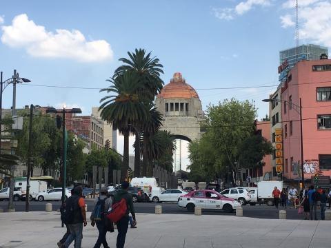 Monumento a la Revolución, en el corazón de la CDMX