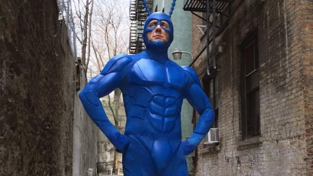 New Costume Design Revealed for Amazon Series THE TICK — GeekTyrant - geektyrant.com