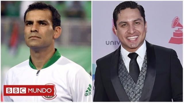 Rafael Márquez fue a declarar a la PGR y negó al igual que Julión Álvarez, vínculos con el narcotráfico (vía Twitter - @bbcmundo)