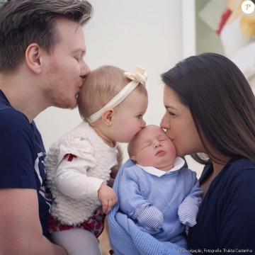 Família completa com a chegada de Teodoro
