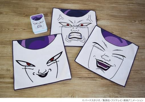 Frieza towels and Mobile Power Bank from Comic Natalie