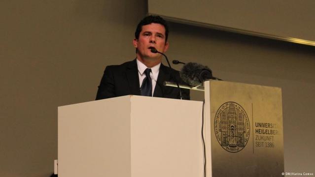 Juiz federal Sérgio Moro em destaque