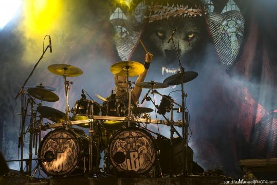 Powerwolf encantou a plateia e pôs milhares de pessoas a cantar!
