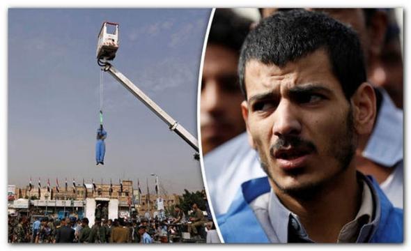 Ucigașul executa în piața publică din Yemen pentru violarea și uciderea unei fetițe de patru ani - Foto: REUTERS
