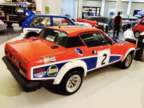La Triumph TR7 V8 del 1978 di Tony Pond.