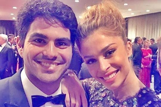 A atriz Gracy e o seu atual namorado Patrick Bulus (empresário).