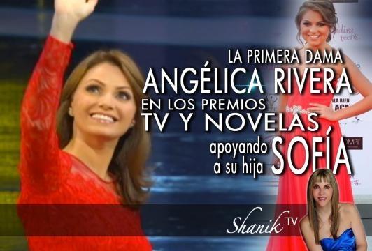 Cuando Angélica Rivera comenzó a revelarse por los maltratos de su marido.
