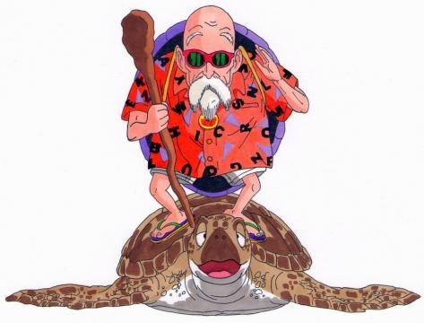 Dragon ball saga- Maestro Roshi y Umigame by blaster85 on DeviantArt - deviantart.com
