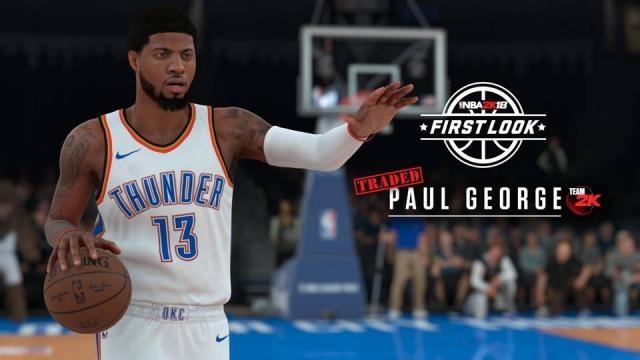 First 'NBA 2K18' screenshots show star players like Paul George ... - sportingnews.com