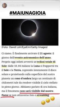 L'eclissi di luna di oggi nel post di Soleil