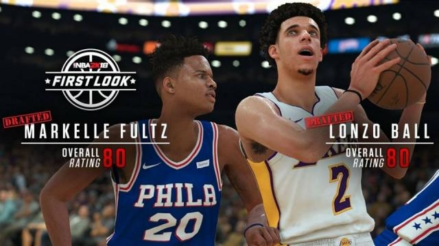 Markelle Fultz, Lonzo Ball earn high player ratings in 'NBA 2K18 ... - sportingnews.com