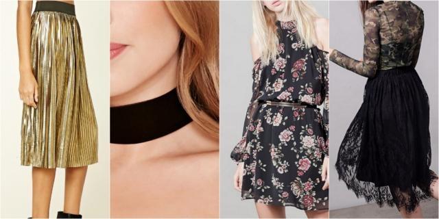 Moda Otoño - UKIBLOG - ukiblog.com. Las faldas midi tampoco os pueden faltar.