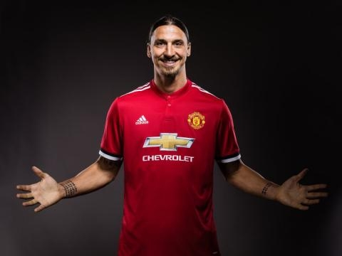 Zlatan is back to United in a number 10 shirt- manchesterunited twitter