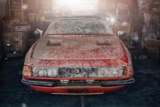 La Ferrari Daytona è stata ritrovata in pessime condizioni