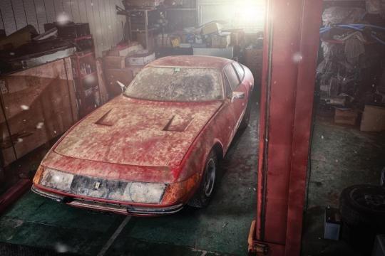La Ferrari Daytona ritrovata in un fienile in Giappone