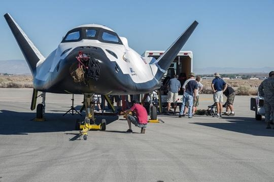 Dream Chaser flight vehicle undergoing tests (Credit – wikimediacommons)