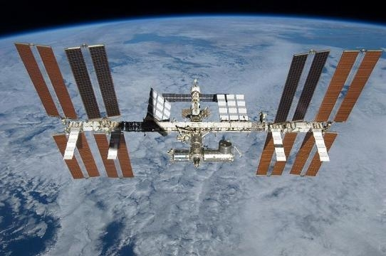 View of the International Space Station (Credit – wikimediacommons)