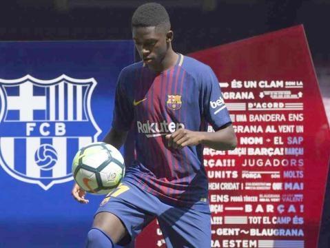 Dembele's Barcelona Presentation Marred By Bartomeu Jeers - ndtv.com