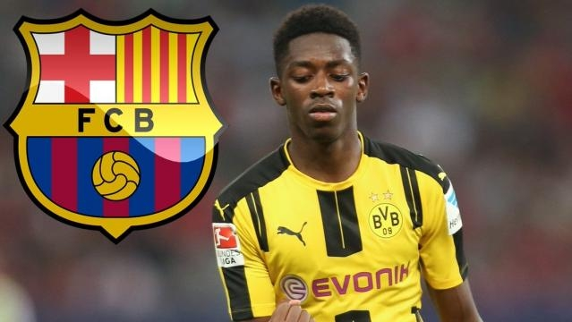 Ousmane Dembélé au FC Barcelone!