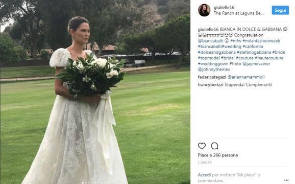 Bianca Balti si è sposata! (via Panorama - panorama.it)