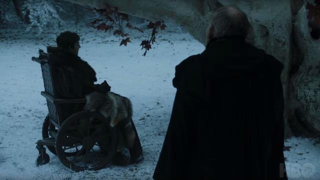 Game of Thrones : Qui est l'homme qui accompagne le jeune Bran Stark ?.