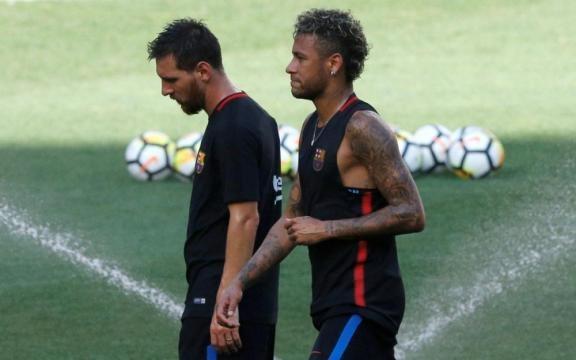 Je t'aime beaucoup» : les adieux de Messi et Neymar sur les ... - leparisien.fr