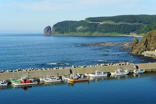 Utoro Port Shari Hokkaido (Credit – 663highland – wikimediacommons)