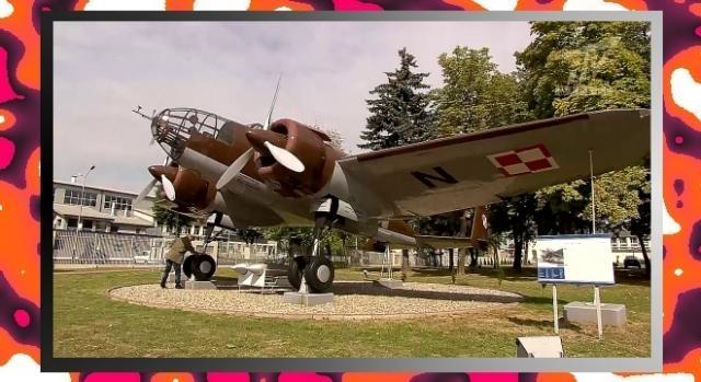 Zrekonstruowany PZL.37 Łoś (YouTube screenshot)