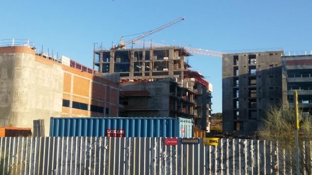 Nuevo Hospital de Toledo, vista frontal 2