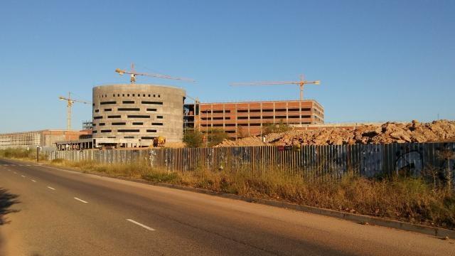 Nuevo Hospital de Toledo, vista lateral