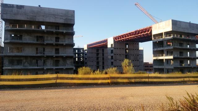 Nuevo Hospital de Toledo, vista trasera