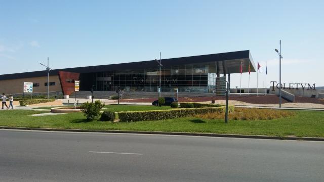Toletum, Centro de Recepción de Turistas, vista frontal 2