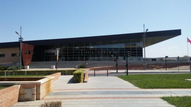 Toletum, Centro de Recepción de Turistas, vista frontal