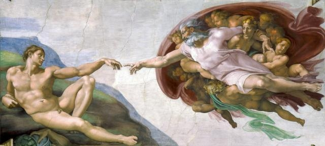Miguel Ángel - La creación de Adán, 1511
