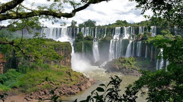 As Cataratas do Iguaçu são o terceiro destino mais procurado do país.