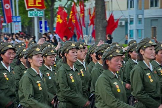 Military parade 10 October 2015 (Credit – Uwe Brodrecht – wikimediacommons)