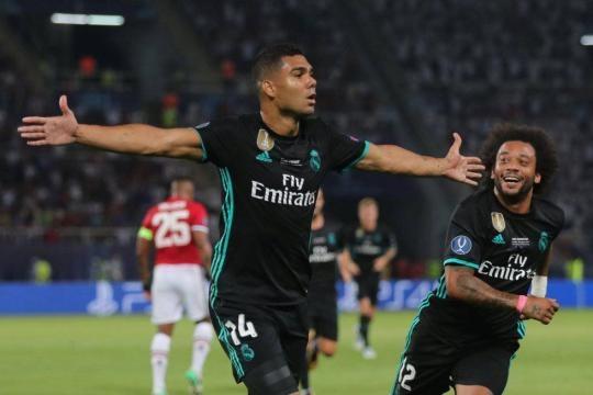 Casemiro otra vez marcó en una final europea. El País.com.