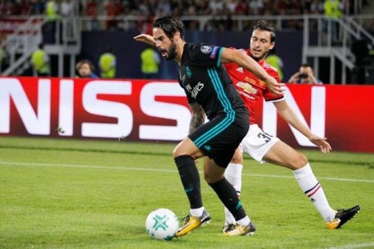 Isco marco un gol y fue el mejor del Madrid en el partido. Trome.com.