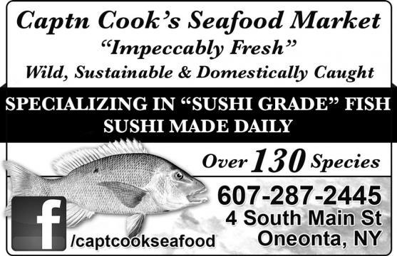 Capt. Cook's Seafood Market | Everything Oneonta, NY - everythingoneonta.com