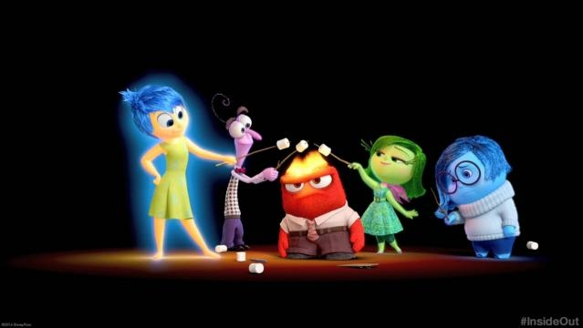 Del Revés (Inside Out) de Disney Pixar.