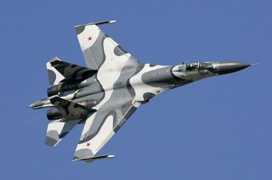 Il potente caccia russo Sukhoi SU-27 Flanker (www.wikipedia.org)