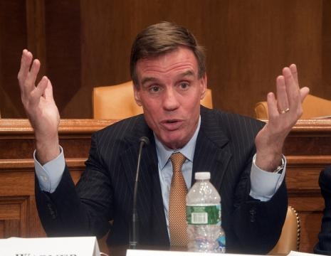 Sen. Mark Warner (D-Virginia) has been trying to get Facebook to cooperate in investigation. / [Image by New America via Flickr, CC BY 2.0]