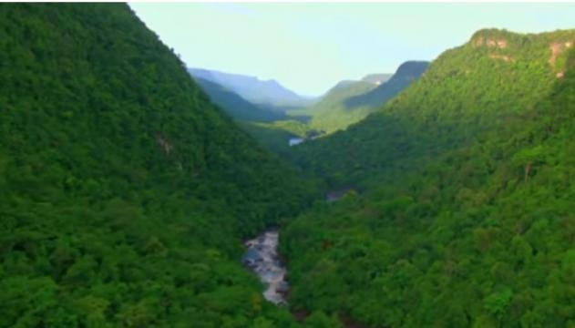Amazon: The lungs of our planet by BBC Image - Luis OP | YouTube