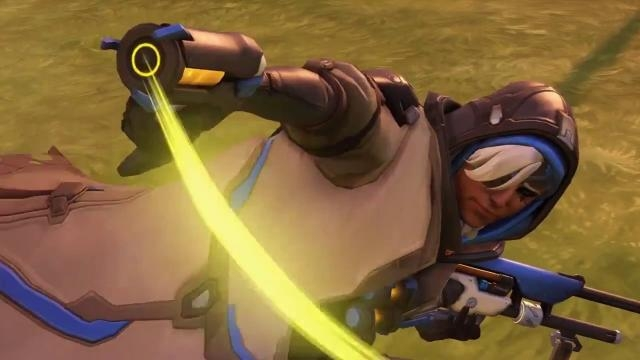 'Overwatch' hero Ana. (image source: YouTube/Syphorce)