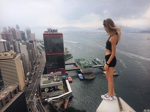 Risiko gehört zu Angelas Beruf